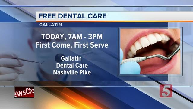 Free Dentistry Day Held In Gallatin
