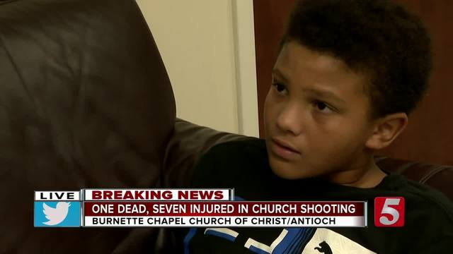 Brave 10-Year-Old Helps Barricade Church Classroom