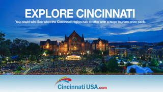 Cincinnati USA Cultural Tourism Sweepstakes