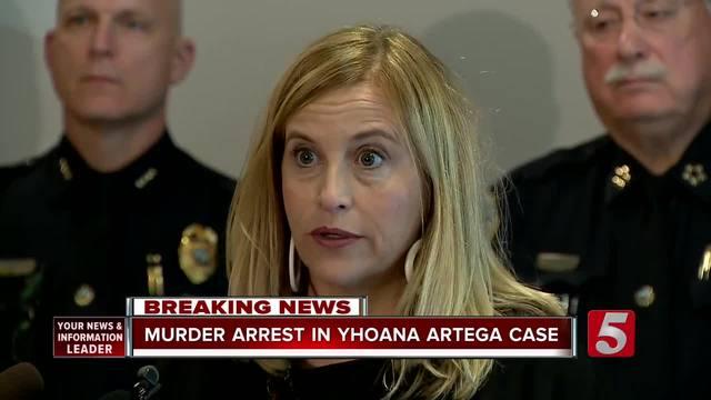 Nashville Police arrest man in brutal murder of 12-year-old