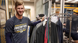 Predators Gather Suits For Local Organizations