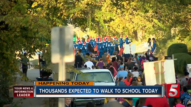 MnDOT encourages participation in Walk and Bike to School Day Oct. 4