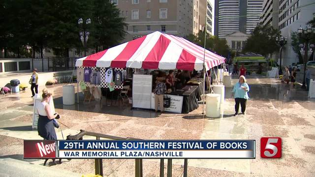 Southern Festival Of Books Wraps Up In Nashville
