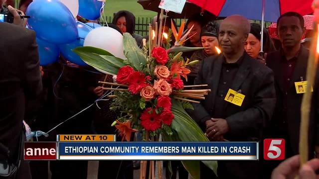 Candlelight Vigil Held For Beloved Ethiopian Man