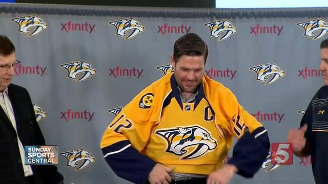 Fisher Enjoys Life After Hockey