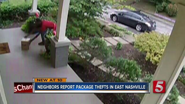 Package Thieves Hit East Nashville Homes