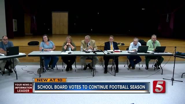 Board Decides Fate Of Grundy County High School Football Team
