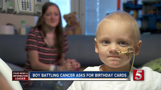 Boy Battling Leukemia Asks for Birthday Cards
