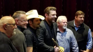 Chris Young Inducted Into Grand Ole Opry