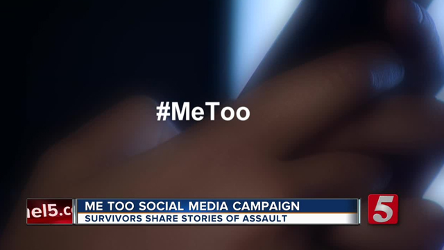 #MeToo social media campaign gets people talking about 'taboo' subjects