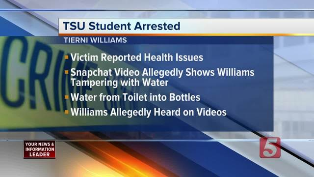 Woman accused of trying to poison Tenn. State University roommate