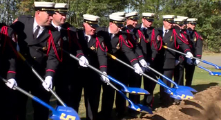 Smyrna Breaks Ground On Jeff Kuss Memorial
