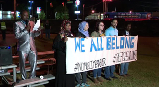 Nashville Organizations Hold Travel Ban Vigil