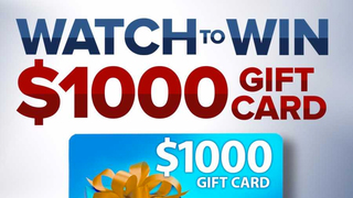 $1000 Cash Gift Card Giveaway