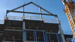 Belmont Tops Out 'Tall Hall' Dorm On Campus