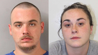 Child tests positive for cocaine, pair arrested