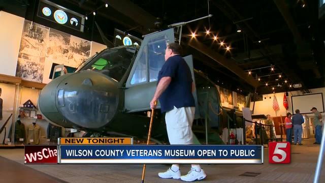Wilson County Veterans Museum Opens To Public