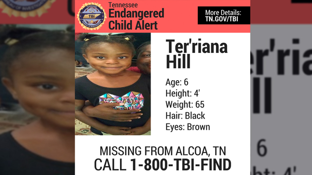 TBI: Endangered child alert for missing 6-year-old, has been canceled