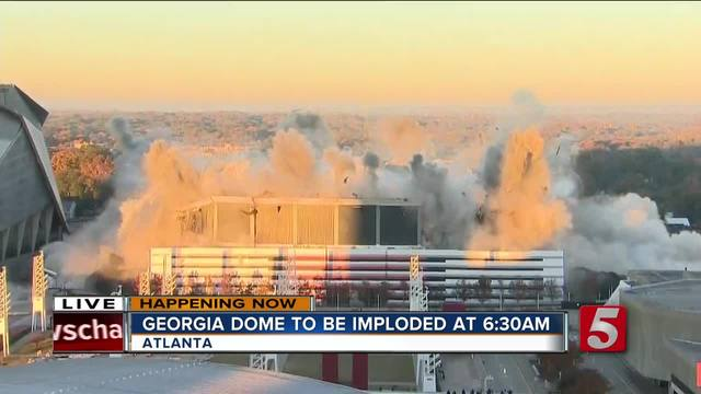 What's next after implosion of Georgia Dome?