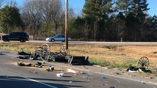 Three injured in Amish buggy crash in Tennessee