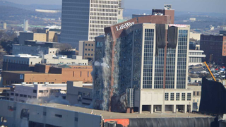 Video: Skyscraper imploded in downtown Nashville