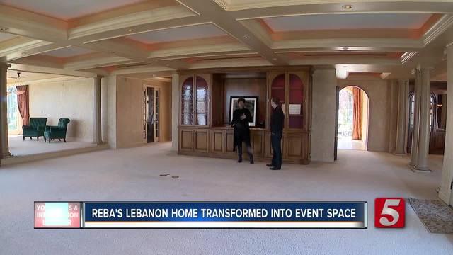 reba u0026 39 s former home near nashville transformed into event