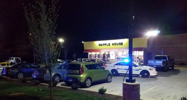 Naked Gunman Kills 4 at Waffle House in Nashville, Police Say