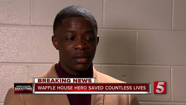 Waffle House Hero Saves Countless Lives