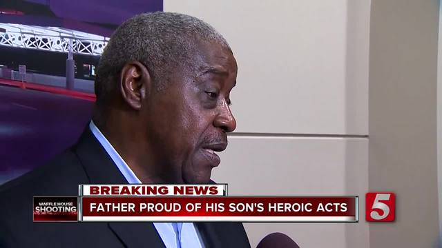 Father Proud Of Son-s Heroic Actions
