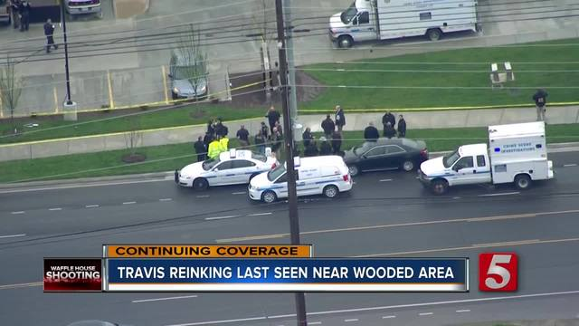 Police- -No Credible Sightings- Of Waffle House Shooting Suspect