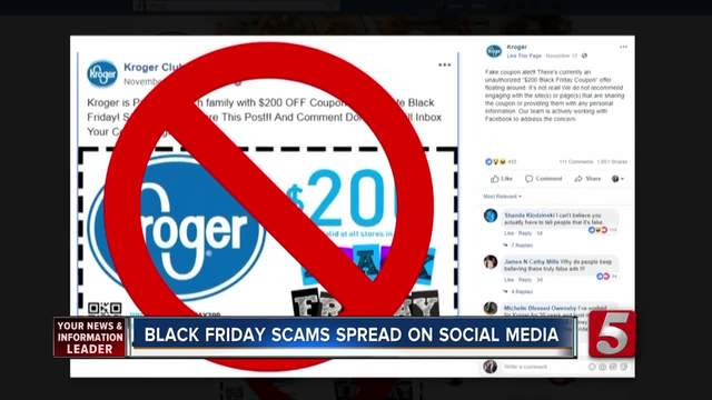 Beware of Black Friday social media scams
