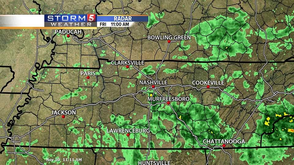Middle Tennessee Radar Nashville Tn Weather