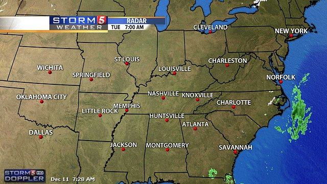 Nashville TN Weather Radar NewsChannel 5 WTVFTV