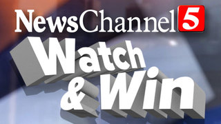 NewsChannel 5 Watch & Win Contest Rules