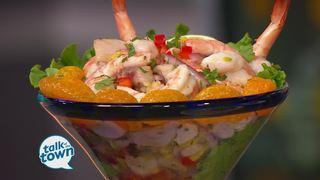 Aquarium Restaurant's Fresh Seafood Ceviche