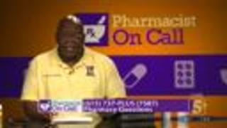 Pharmacist on Call: July 2017