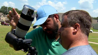 Photographers Shoot Solar Eclipse In White House