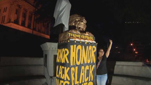 Image result for sam davis fop protest nashville