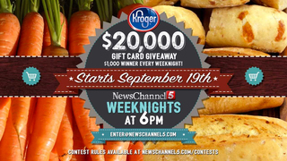 $20,000 Grocery Giveaway