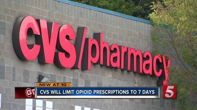 cvs to limit opioid prescriptions to 7 days
