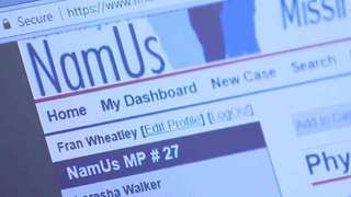 Database Helps Families With Missing Loved Ones