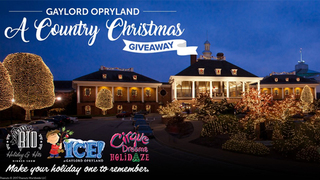 Gaylord Opryland A Country Christmas Giveaway