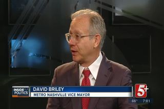Inside Politics- Vice Mayor Briley