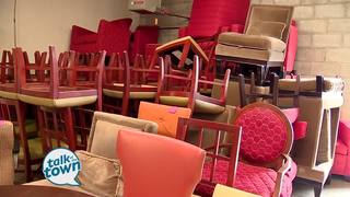 Ms. Cheap Shops for Deals on Luxury Furniture