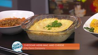 City Farm Co.'s Cheddar Herb Mac & Cheese