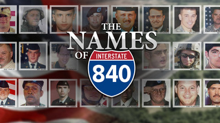 Names Of 840 Pay Tribute To Fallen Soldiers
