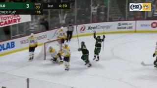 Minnesota Gets 4 Late Goals, Beats Preds
