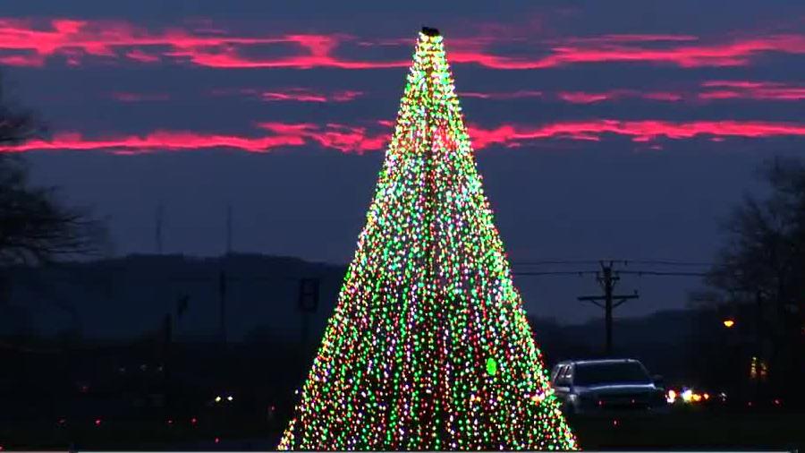 Christmas Lights Lebanon Tn