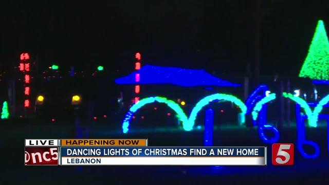The Dancing Lights of Christmas Opens
