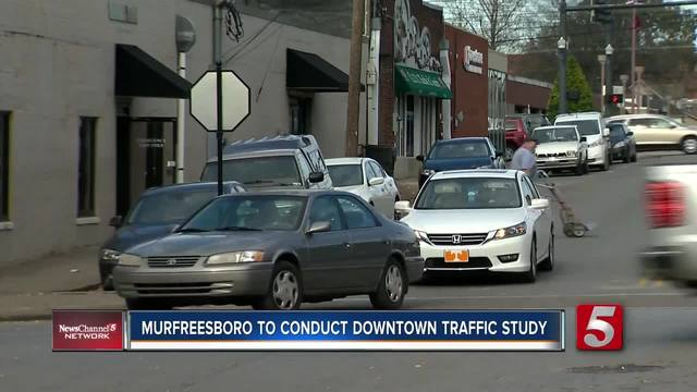 Murfreesboro To Conduct Traffic Study On Downtown Intersections